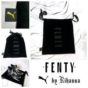 """Fenty Velour Dust Bag 14"""" x 15"""""""